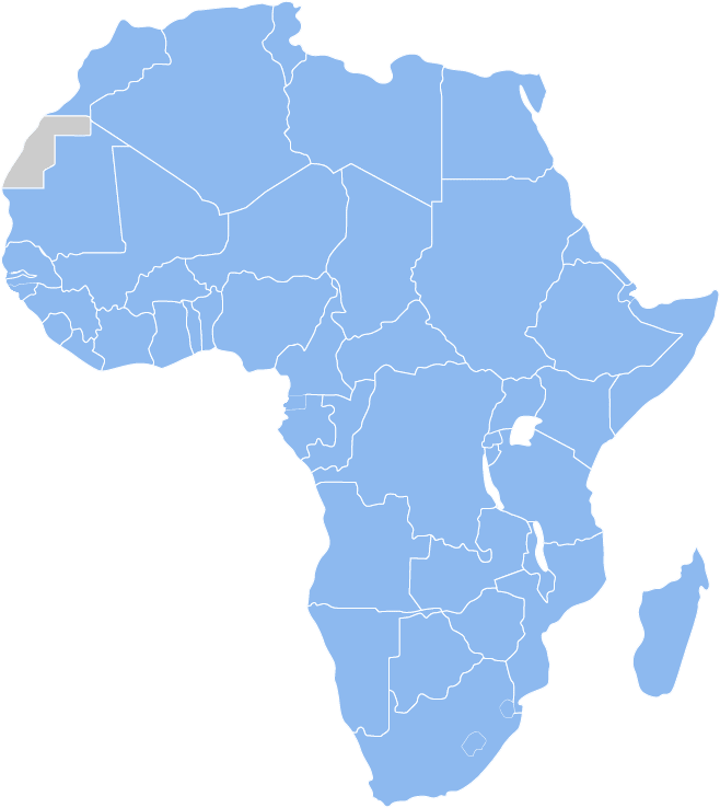 Africa Map HR Payroll Outsourcing Services